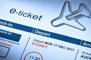 Как выглядит электронный билет на самолёт?