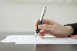 Правила составления заявления