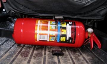 Какой срок годности у автомобильного огнетушителя?