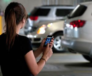 Как оплатить парковку с мобильного телефона