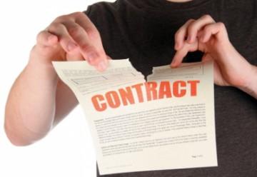 Как расторгнуть договор купли-продажи?