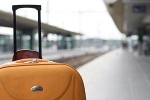 Как оформить передачу чемодана поездом питер москва