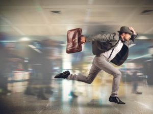 Что делать, если опаздываешь на поезд?