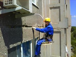 На осуществление ремонта межпанельных швов
